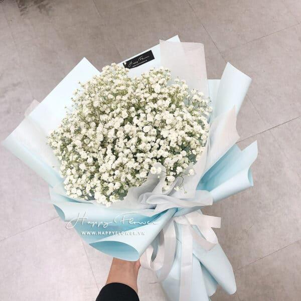 MINI WHITE BABY (giấy xanh)