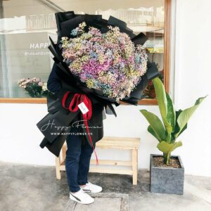 BIG HUG BABY RAINBOW – SUPER (giấy đen)