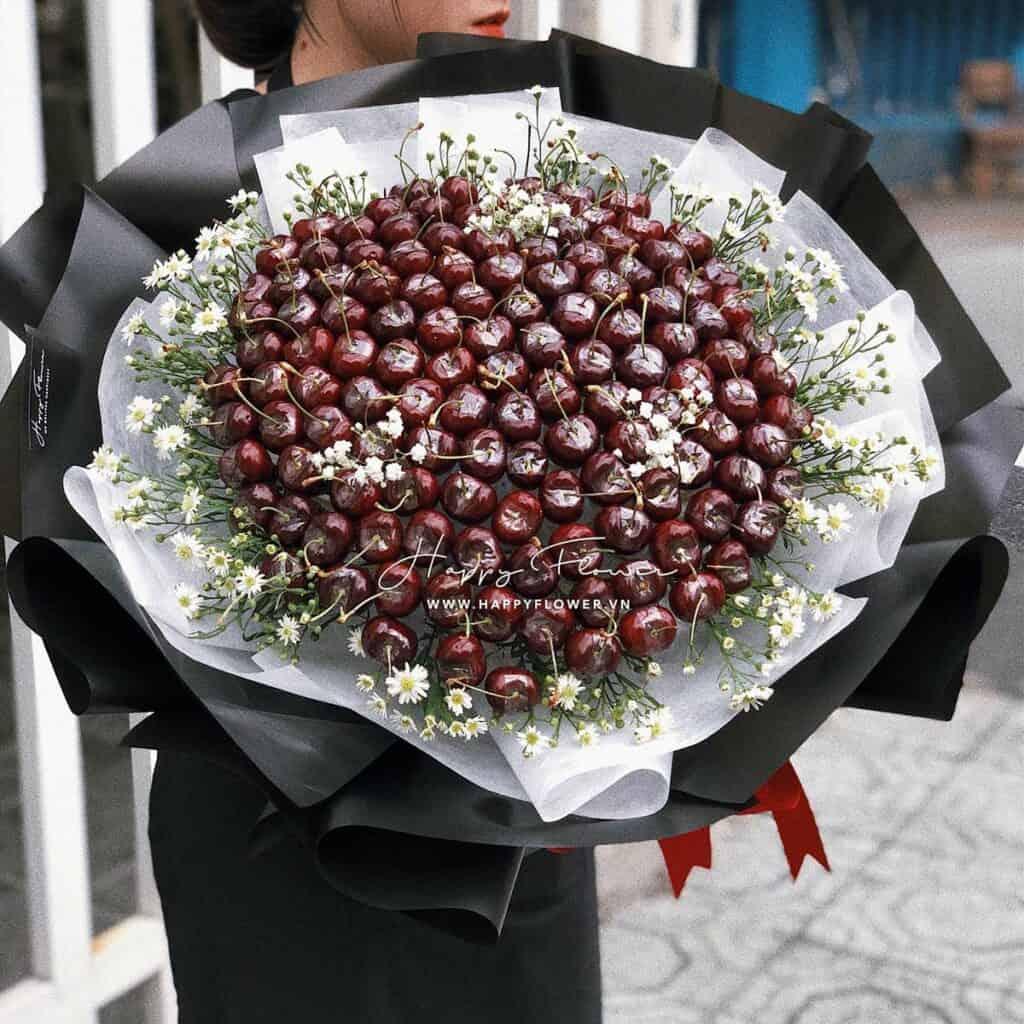 bó-hoa-cherry-khồng-lồ-hoa-ăn-được