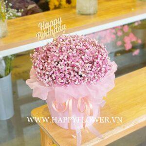 LOVELY BOX MIX BABY PINK (giấy voan hồng)