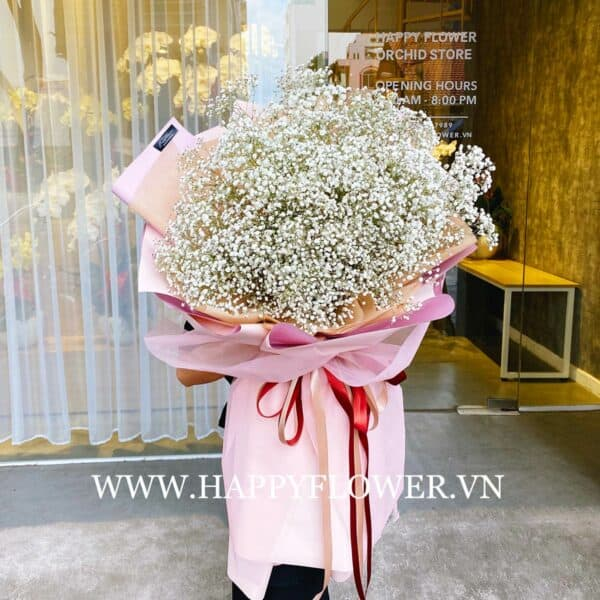 SIMPLE BABY WHITE (giấy hồng ruốc)