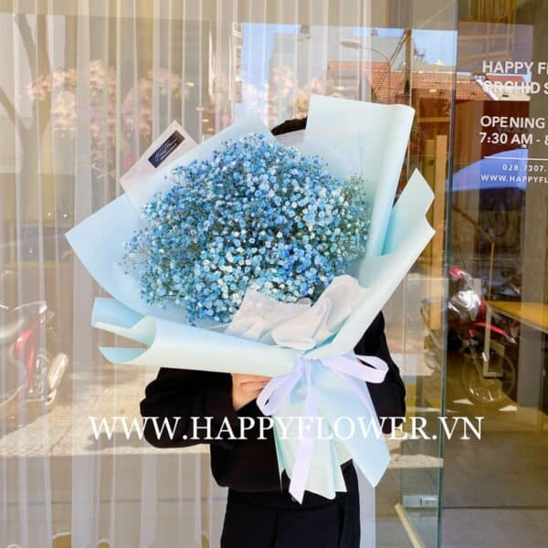 BABY BLUE SMALL SIZE (giấy xanh)