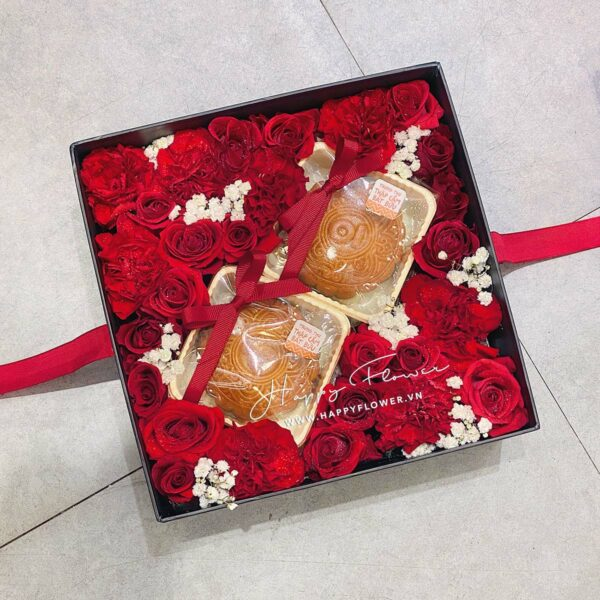 SUPER SWEET BOX MIX DOUBLE MOONCAKE