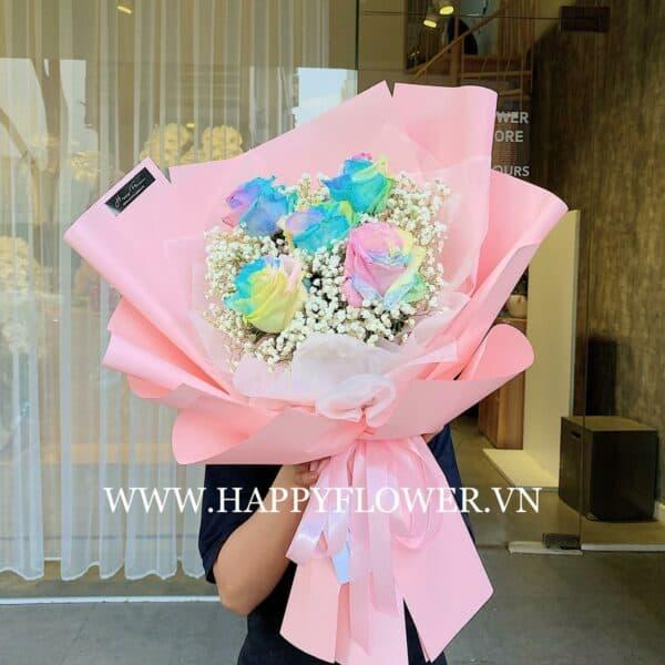 FANCY CAKE 5B MIX BABY (giấy hồng)