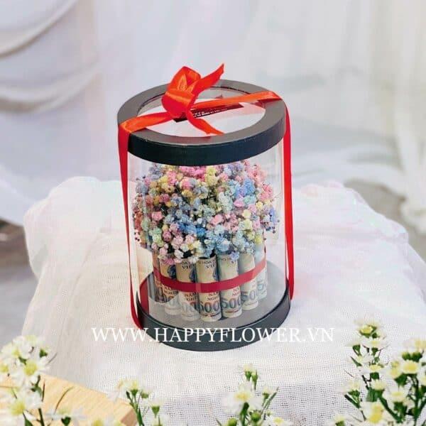 HỘP HAPPY MONEY MIX BABY RAINBOW (hộp đen)