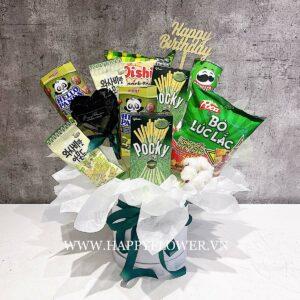 hop snackmix green