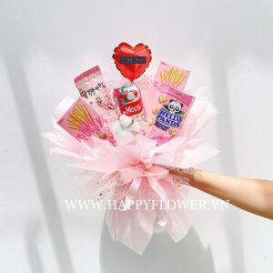 bohoasnack pink mini