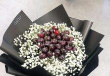 cherry baby (size 30, giấy đen)