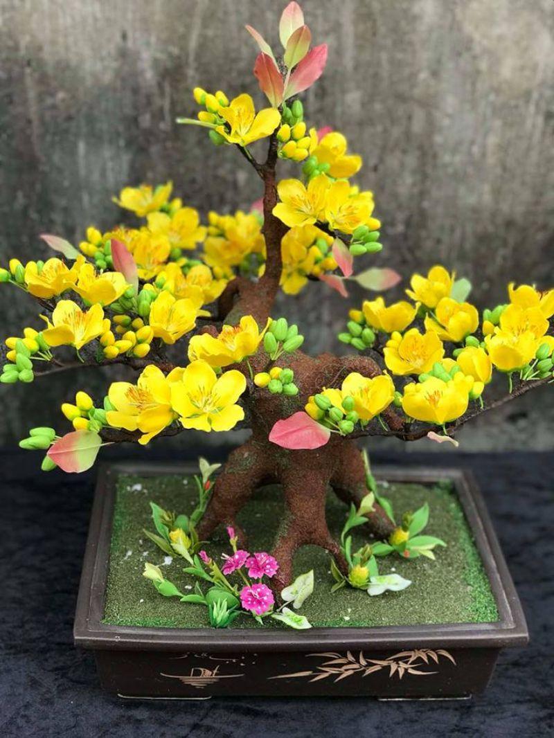 hoa mai vàng mừng năm mới