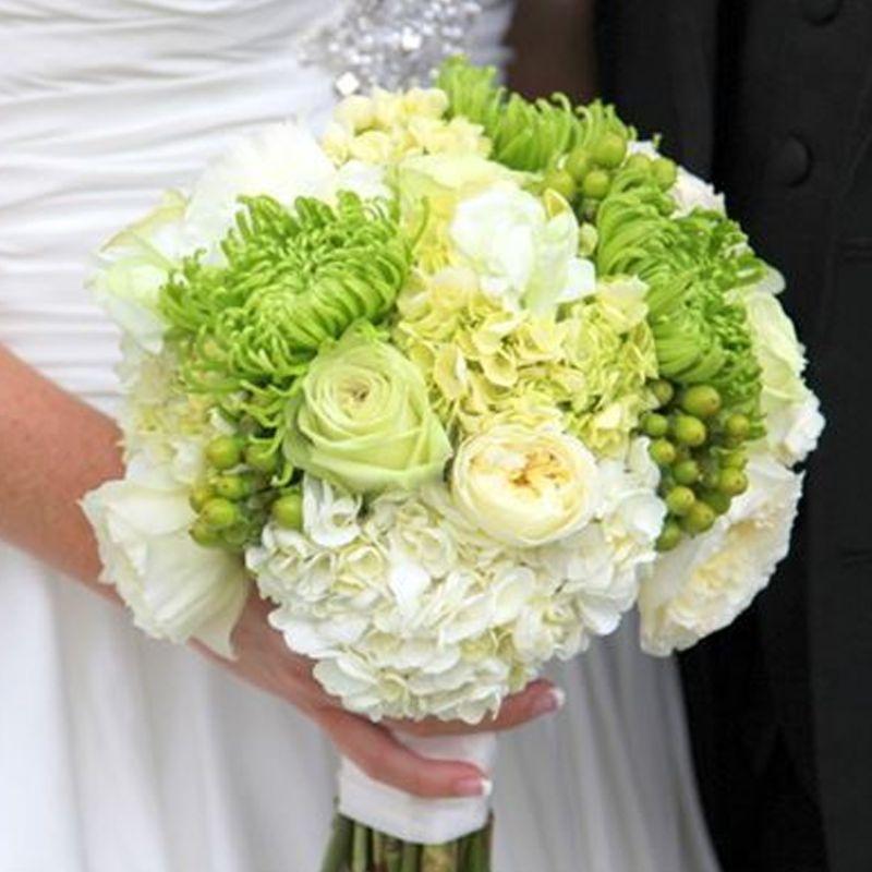 bó hoa cưới phong cách vintage