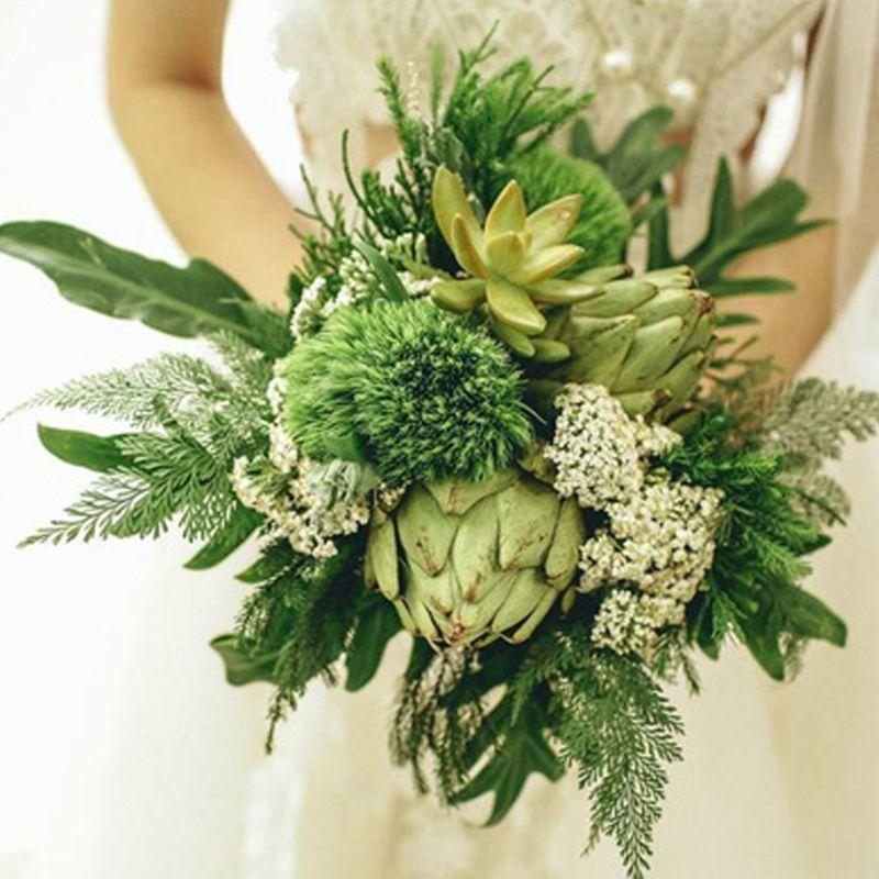 hoa cưới sen đá atiso