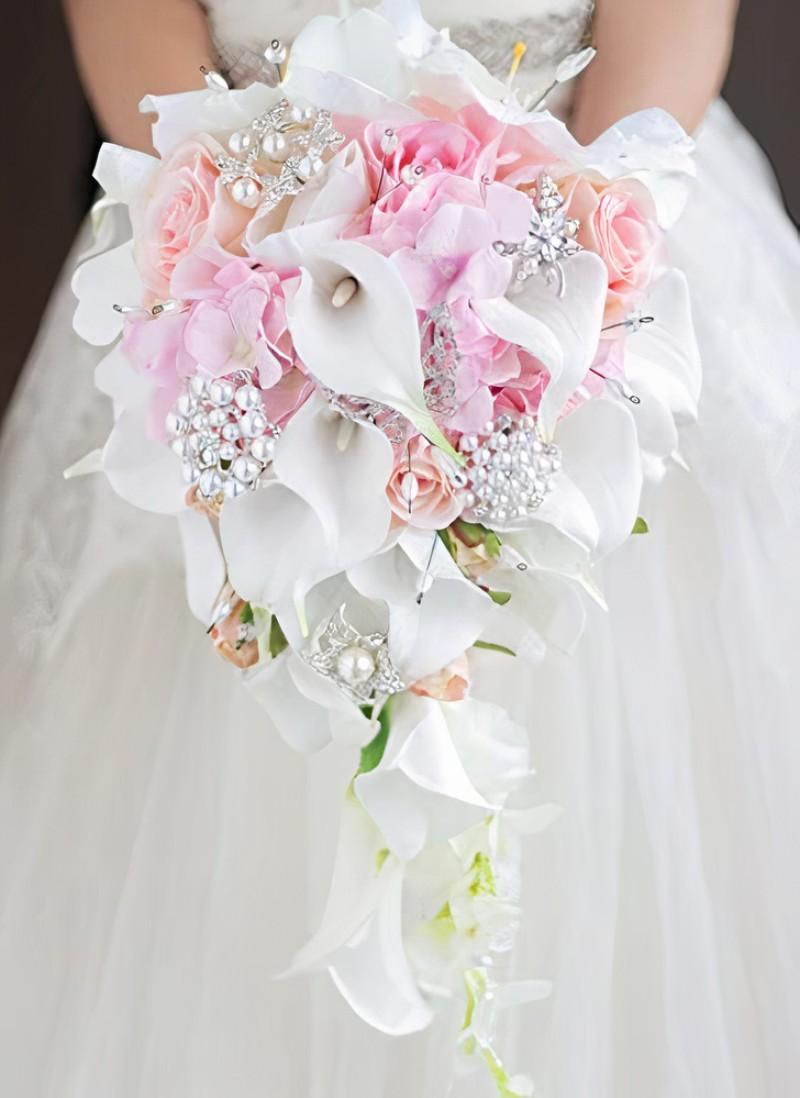 Trang trí hoa cưới cầm tay tuyệt đẹp