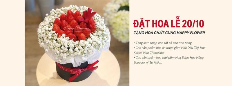 Liên hệ mua hoa tại Happy Flower