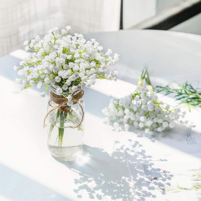 Lọ hoa hoa baby trắng để được bao lâu