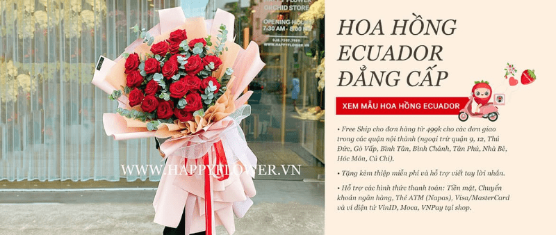 Happy Flower | Hoa ăn được số 1 Việt Nam