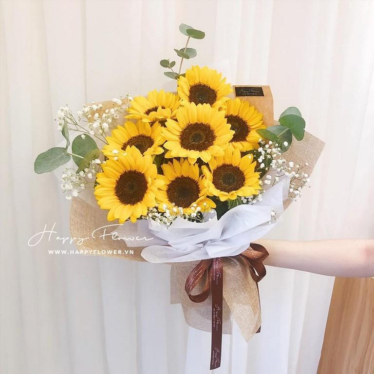 Hoa hướng dương vàng rực rỡ