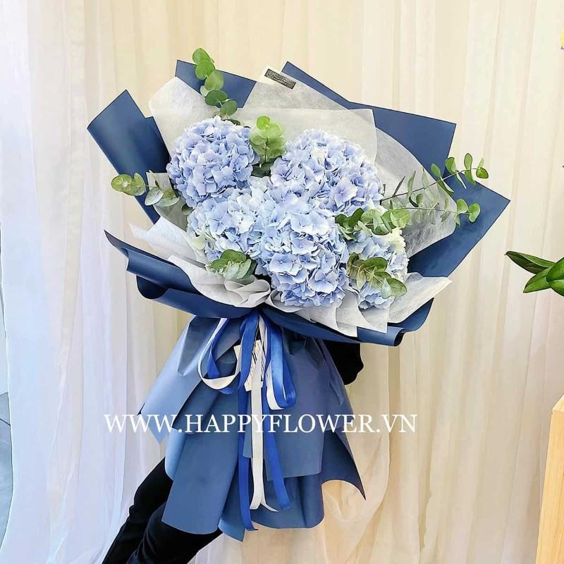 Hoa cẩm tú cầu xanh tặng sinh nhật