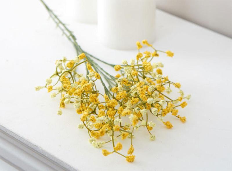 cành hoa baby vàng chúc mừng sinh nhật