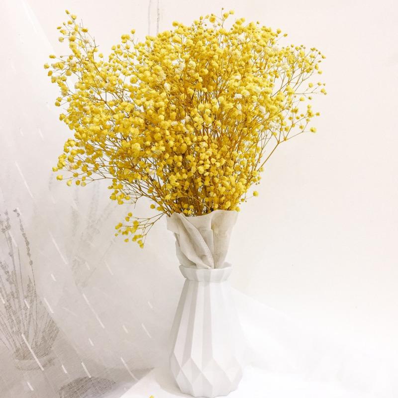 chậu hoa baby vàng rực rỡ tặng sinh nhật