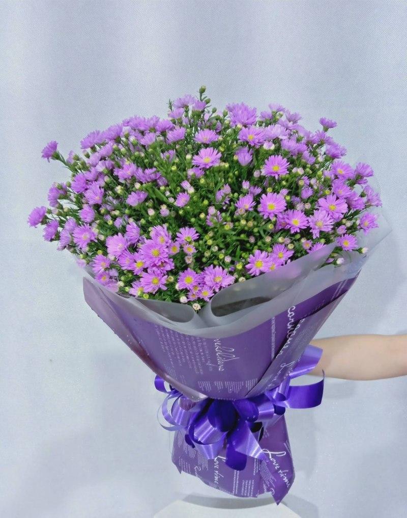 hoa thạch thảo tím chúc mừng sinh nhật người yêu