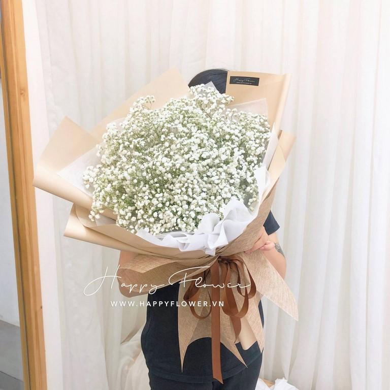 Hoa baby màu trắng tuyệt đẹp