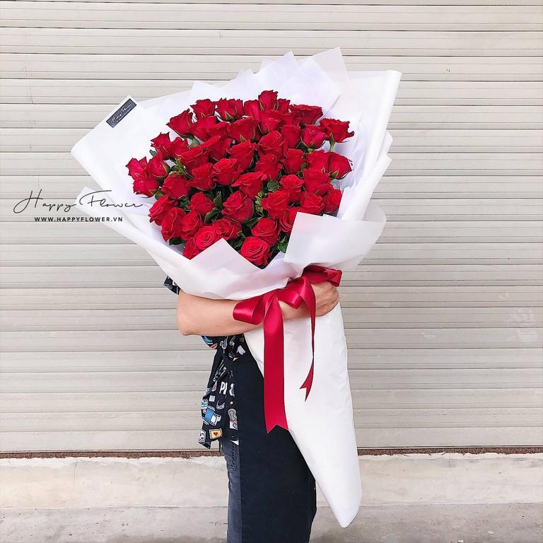 Đóa hoa hồng cực lớn tặng vợ