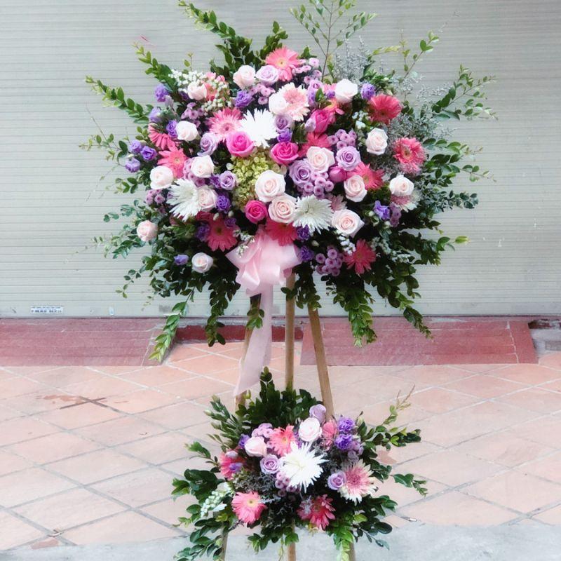 kệ hoa tông hồng tím