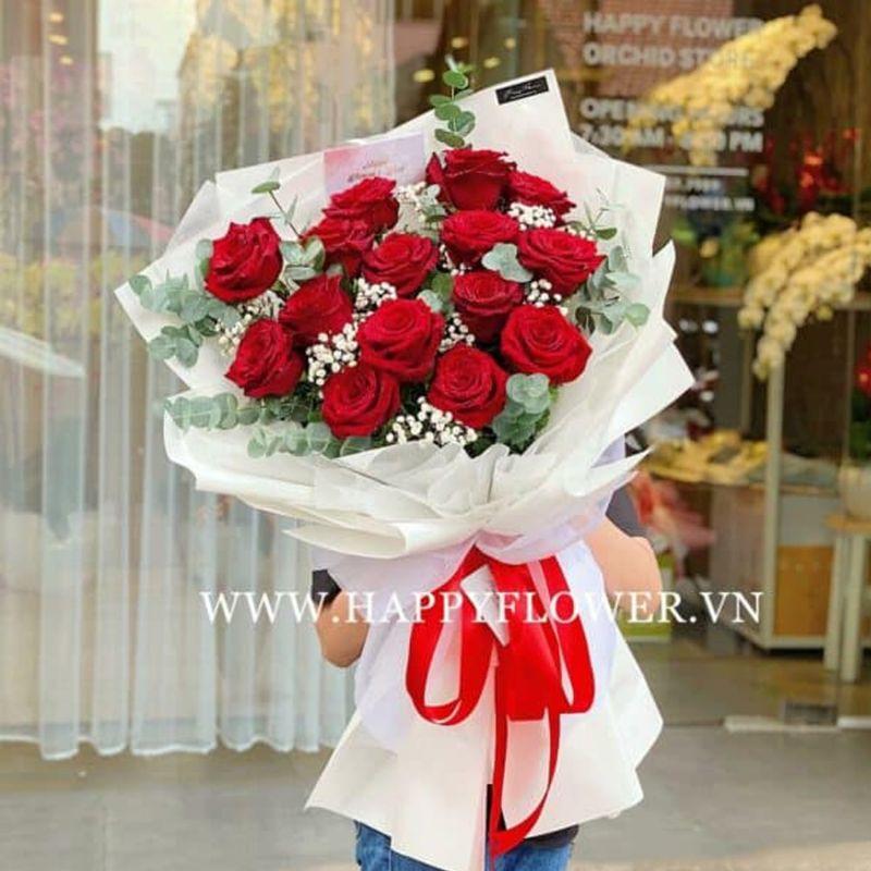 bó hoa hồng đỏ có ý nghĩa gì