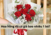 hoa hồng đỏ giá bao nhiêu