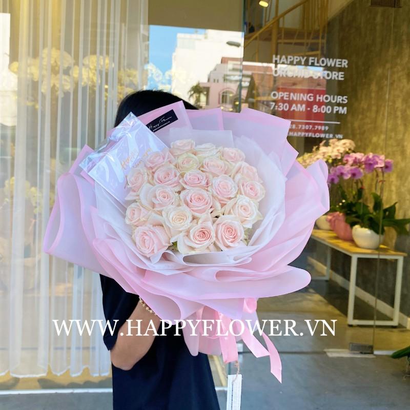 Bó hoa hồng làm quà tặng