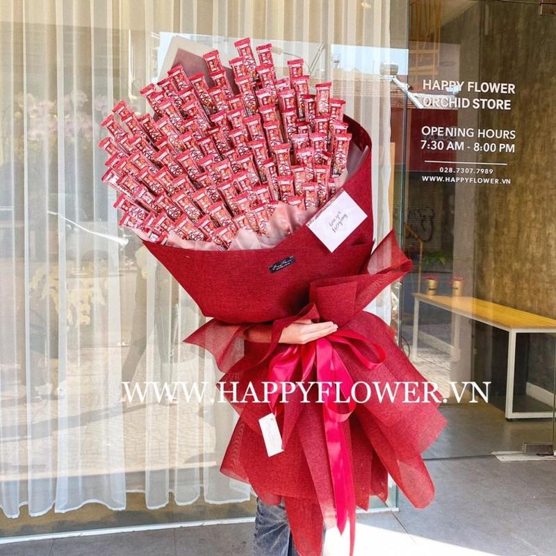 Hoa socola tặng bạn trai vào ngày lễ tình yêu