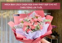 Những loại hoa thích hợp tặng sinh nhật cho nữ