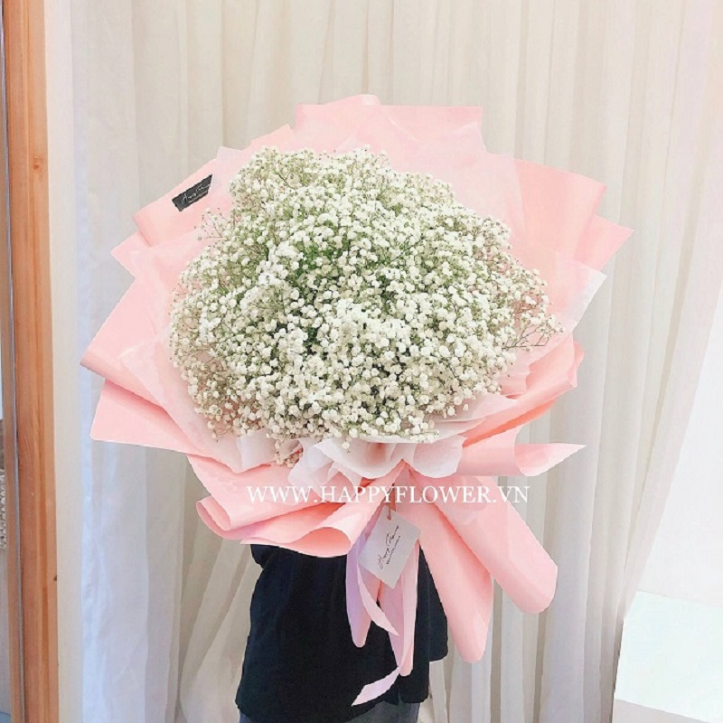 Hoa baby tặng sinh nhật