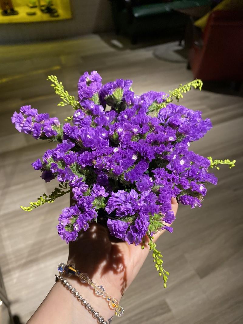 bó hoa salem màu tím tặng sinh nhật