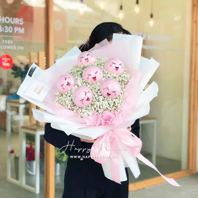 Hoa bông gòn màu hồng cực đẹp