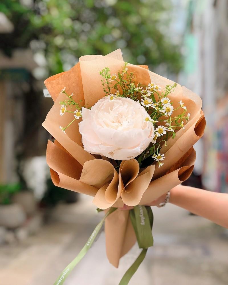 Hoa sinh nhật mẫu đơn tuyệt đẹp