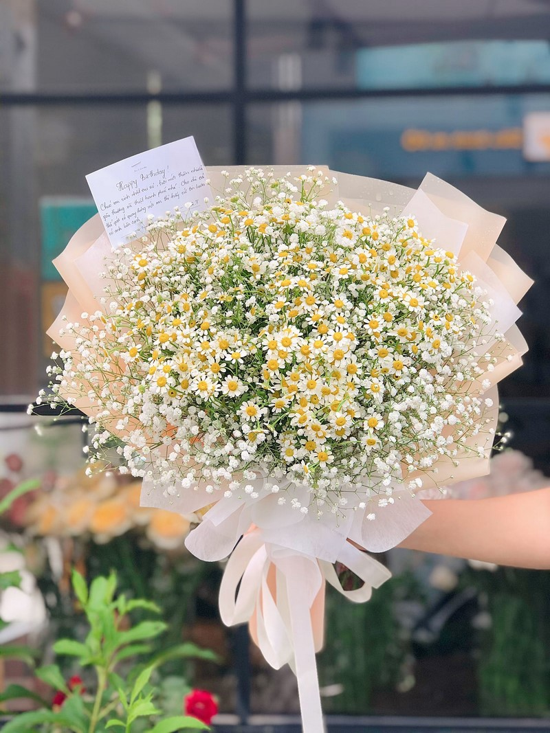 bó hoa cúc tana xinh đẹp