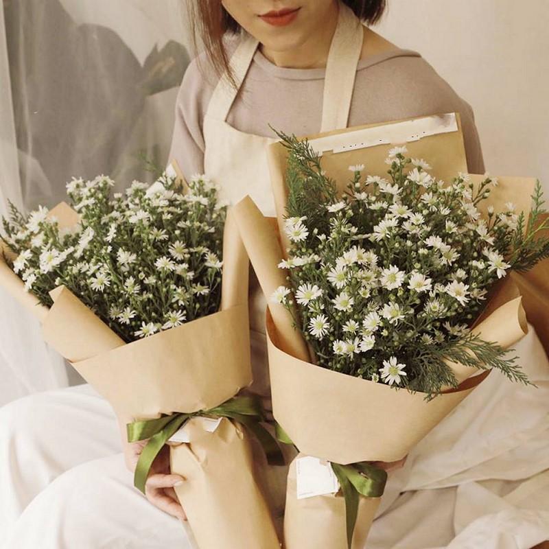 bó hoa thạch thảo vintage đẹp