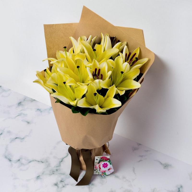 Hoa sinh nhật hoa lily