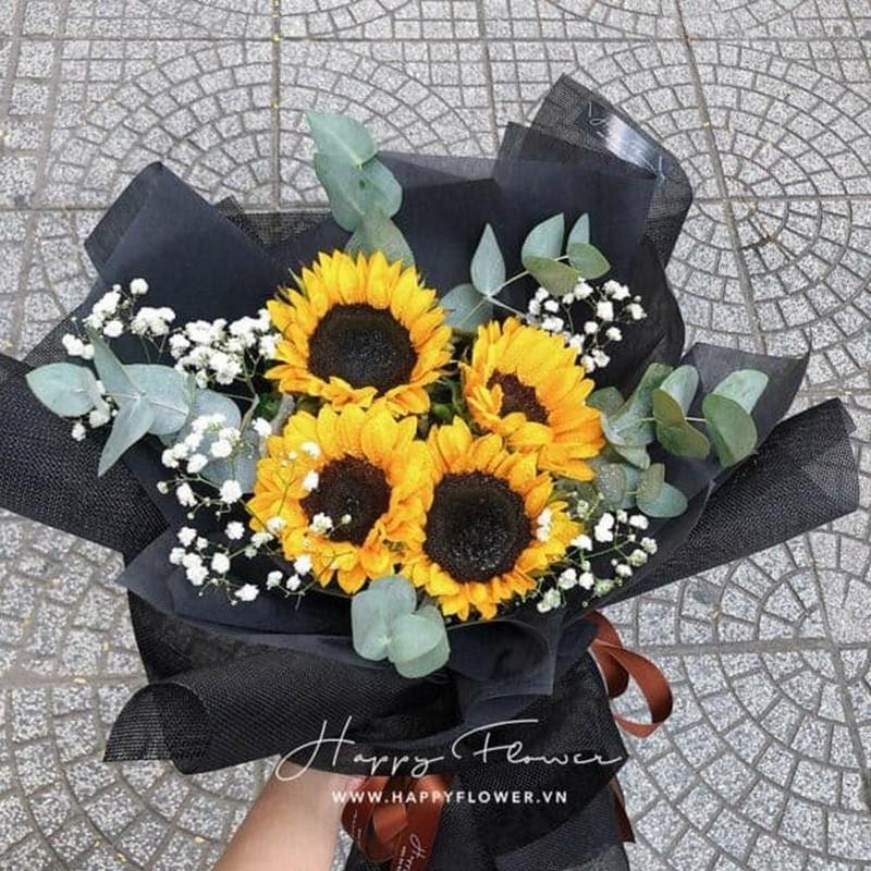 Bó hoa hướng dương tặng bạn gái