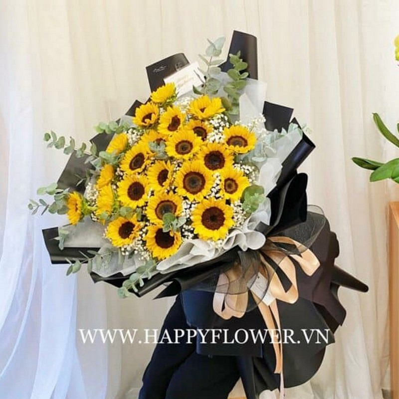 Bóa hoa cực lớn tặng bạn gái